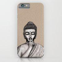 buddha iPhone & iPod Cases featuring BUDDHA by Vanya
