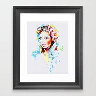 Framed Art Print featuring Sunbreeze by Charmaine Olivia