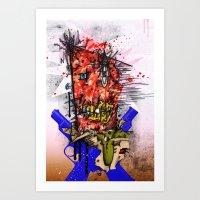 Meathead Art Print