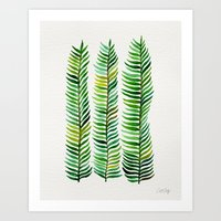 watercolor Art Prints featuring Seaweed by Cat Coquillette