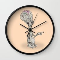Zombie Roger Wall Clock
