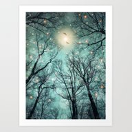 Nature Blazes Before You… Art Print