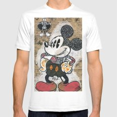 t(ri)opolino Mens Fitted Tee SMALL White