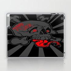 Shanghai Skull Blackout Laptop & iPad Skin