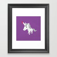 Accidental Legends: Unic… Framed Art Print