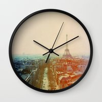 Iron Lady Wall Clock