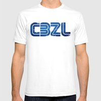 CBZL//Arcade Logo Mens Fitted Tee White SMALL