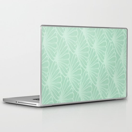 Lady in Mint Laptop & iPad Skin