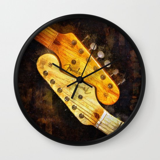 YinYang Strat Wall Clock