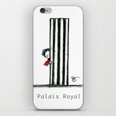 A Few Parisians: Palais Royal by David Cessac iPhone & iPod Skin