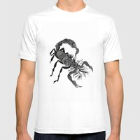 Scorpion  Mens Fitted Tee White SMALL