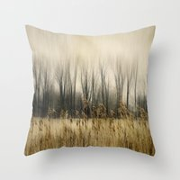 Marsh Edge Throw Pillow