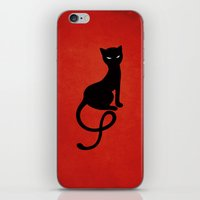 Red Gracious Evil Black … iPhone & iPod Skin