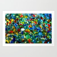 Marbles... Lost & Found … Art Print