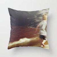 Youthful Abandon Throw Pillow