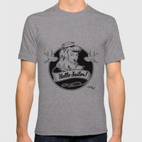 Hello Sailor Mens Fitted Tee Athletic Grey SMALL