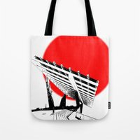 Barna Love Red Sun Tote Bag