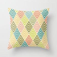 Citronique Series: Forêt Sorbet Throw Pillow