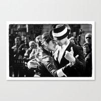 Tango Couple  Canvas Print