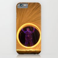 iPhone & iPod Case featuring Light Man by Mary Kilbreath