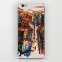 The City pt. 3 iPhone & iPod Skin