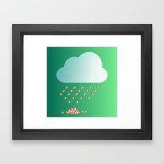 RainOfLove Framed Art Print