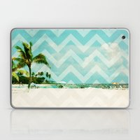Chevron Beach Dreams Laptop & iPad Skin