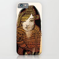 iPhone & iPod Case featuring Native girl by RAIKO IVAN雷虎