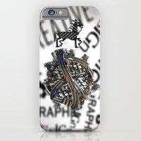 pixel iPhone & iPod Cases featuring Pixel by VERTIgO
