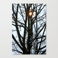fake sun Canvas Print
