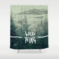 Wild Thing: Skagit Valle… Shower Curtain