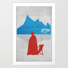 Enjoy the Silence Art Print