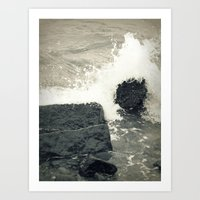 Crystal Waves 2 Art Print