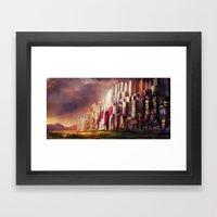 New Jerusalem day52 Framed Art Print