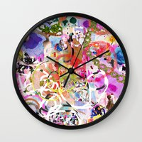 Party Girl 2 Wall Clock