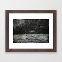 Forgotten Ride Framed Art Print