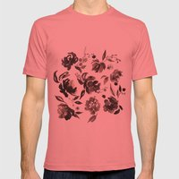 Winter Blossom Mens Fitted Tee Pomegranate SMALL