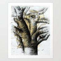 Old Tree 2 Art Print