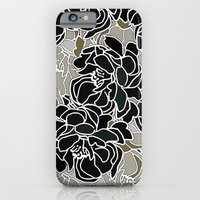 iPhone & iPod Case featuring Patina Blossoms by Joan McLemore