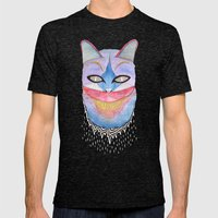 What's New Pussycat? Mens Fitted Tee Tri-Black SMALL