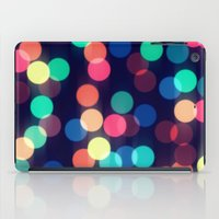 Round bokeh iPad Case