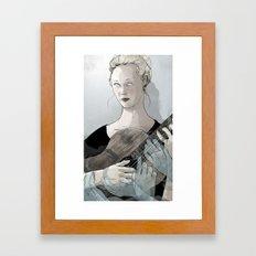 Laura Marling Framed Art Print