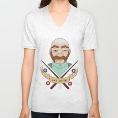 Billiard player Unisex V-Neck