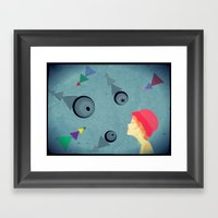 Eye For An Eye Framed Art Print