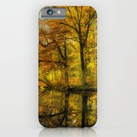 iPhone & iPod Case featuring Fall colors of New England by LudaNayvelt