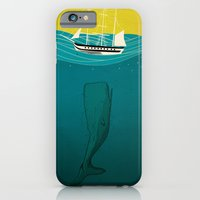 iPhone & iPod Case featuring Sunk by Lee Grace Illustration