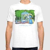 Locals Only  - Chapel Hill, NC Mens Fitted Tee White SMALL