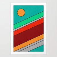 Moon Spotting Art Print