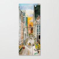 San Francisco at Dusk Canvas Print