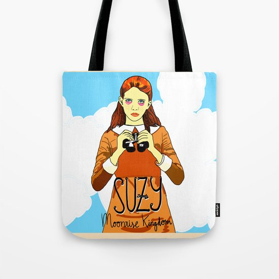 Moonrise Kingdom, Suzy Tote Bag